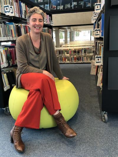 Liesbeth Aerts is Turnhouts stadsdichter