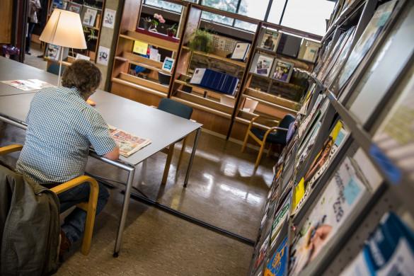 Leeszaal Bibliotheek